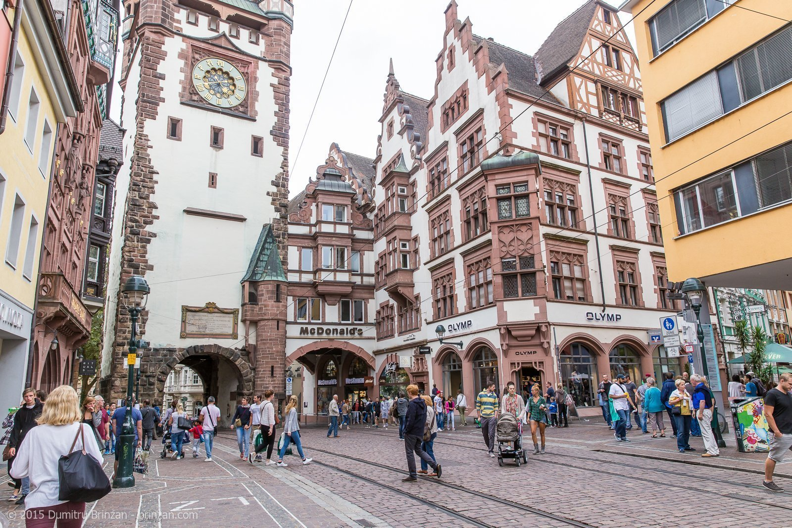 Freiburg im Breisgau Germany  city photo : Walk Around Freiburg im Breisgau, Germany August 2015