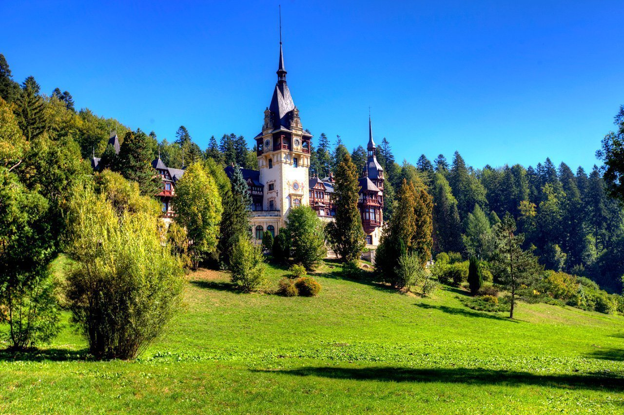 Peles Castle Sinaia HDR
