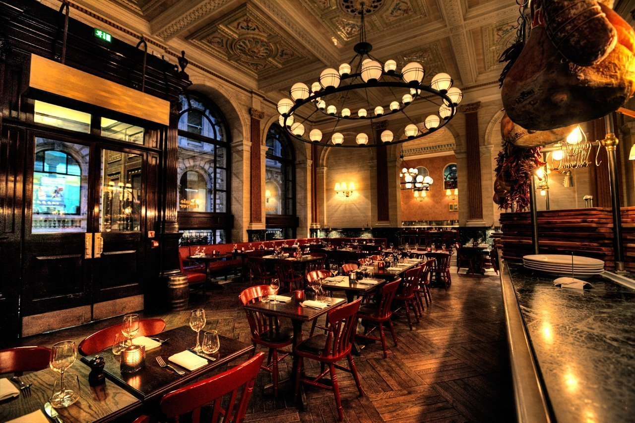 Jamie's Italian on Threadneedle Street: Interior