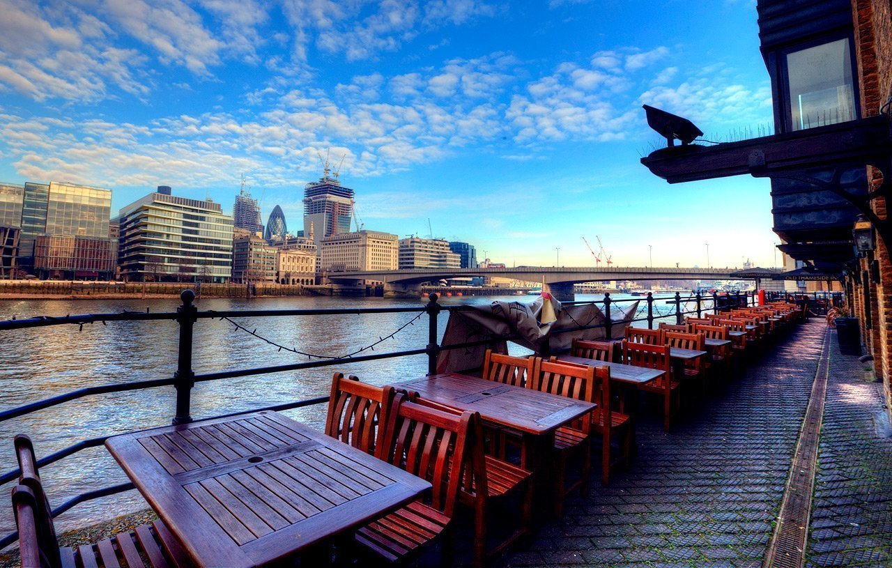 View from Old Thameside Inn