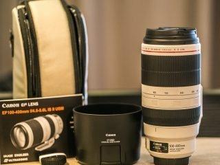 Canon EF 100-400 f/4.5-5.6L IS II
