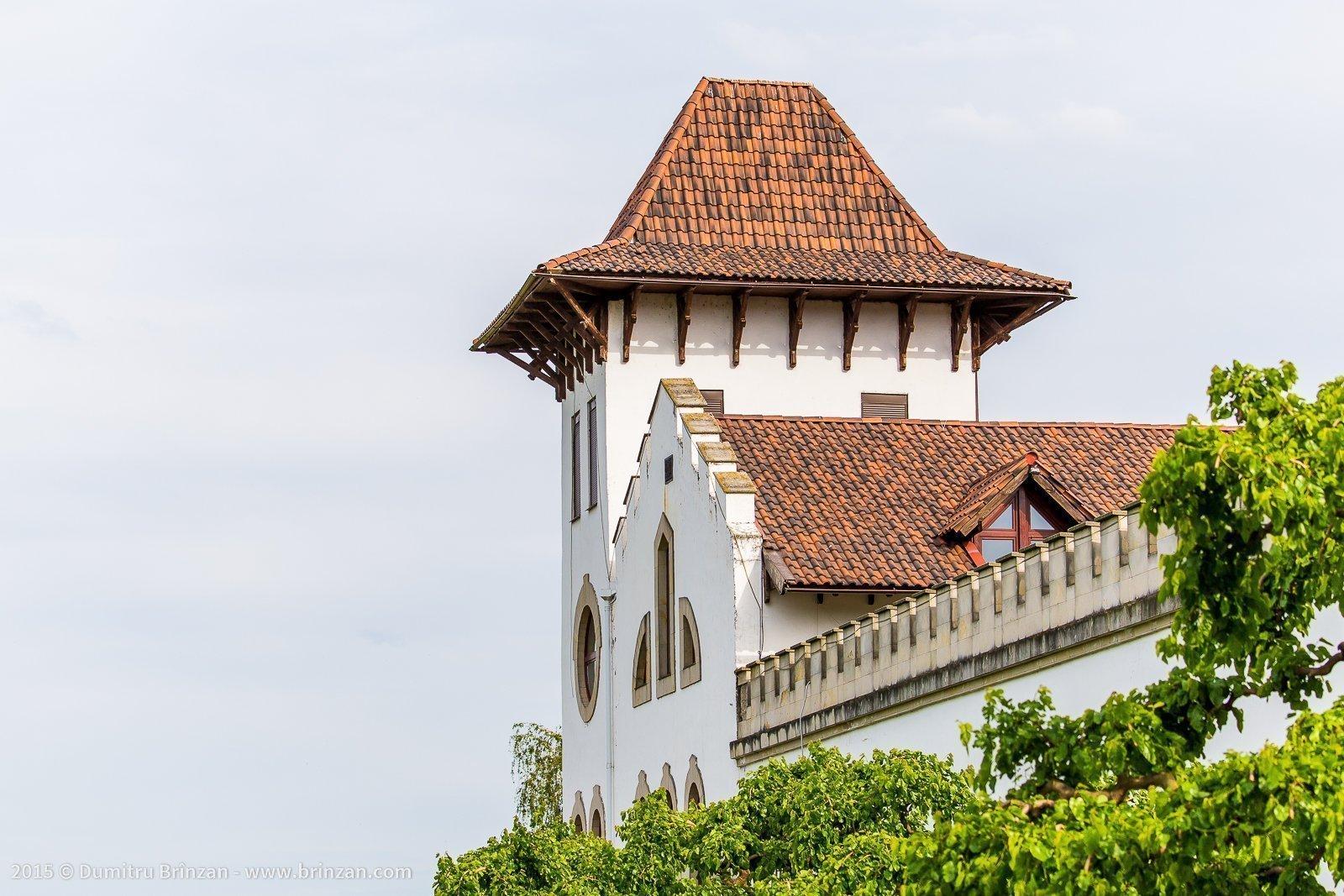 Purcari Estate - Main Building's Tower