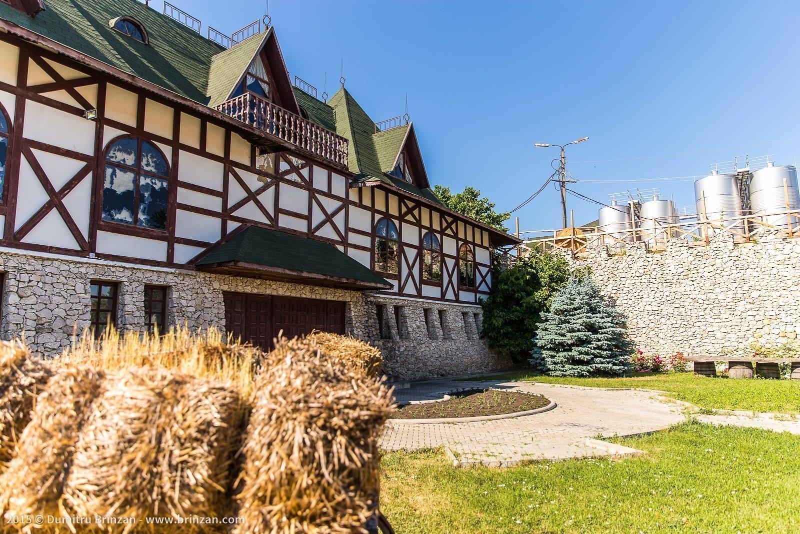 Asconi Winery in Puhoi Village, Moldova - Outside