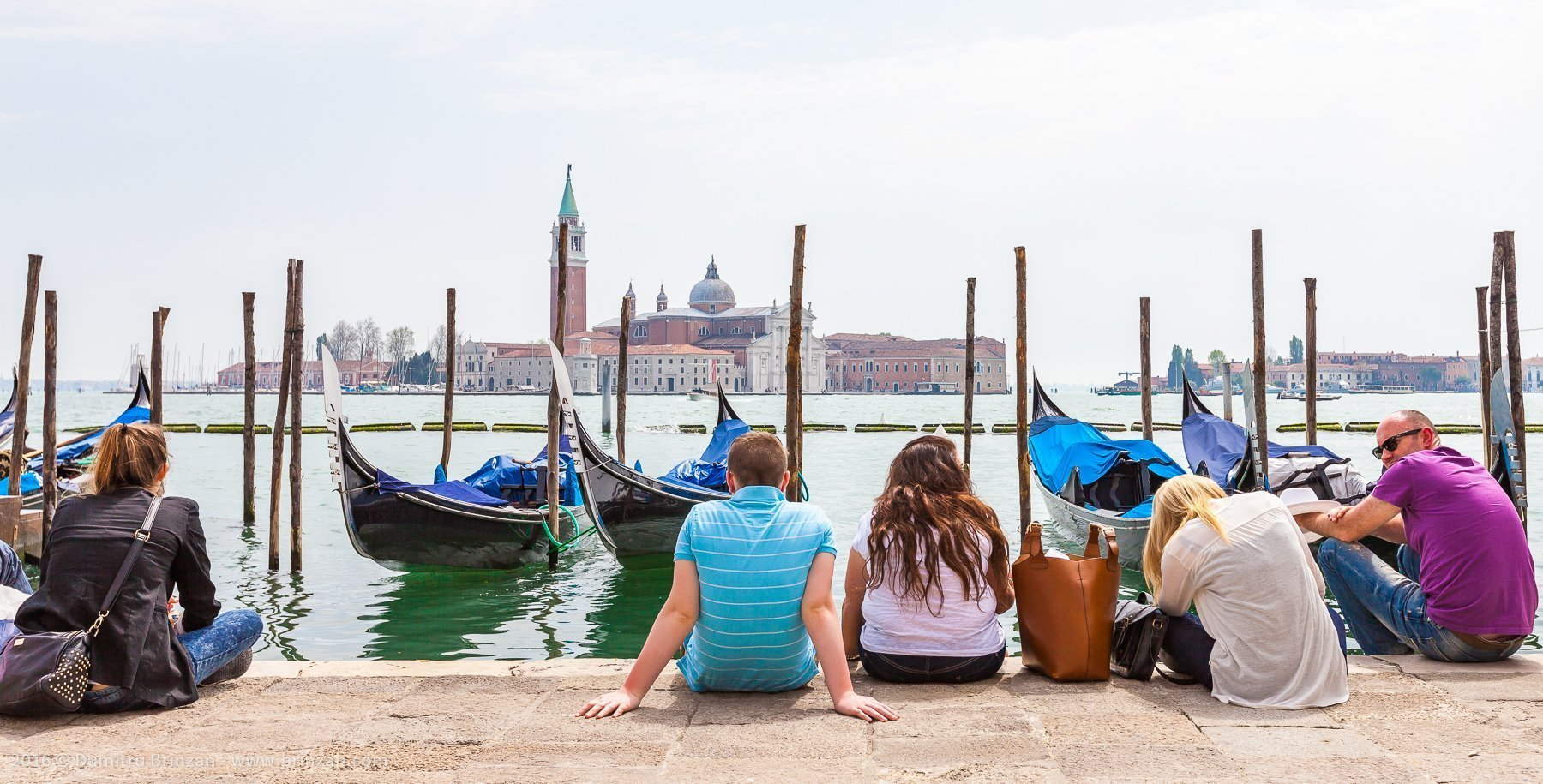 The air feels very hot in Venice, even if the temperatures are not high. The stones in the city absorb the sun's heat and becomes like a sauna. Always have bottled water with you.
