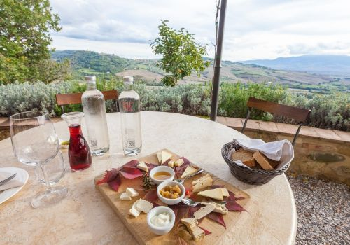 Thumbnail for Organic Goat and Sheep Cheese Tasting at Podere Il Casale, Pienza, Italy