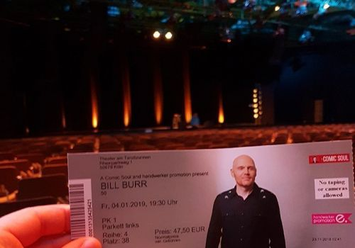 """Thumbnail for Bill Burr Crushes it in Cologne, Germany – First Show of the """"50"""" European Tour"""