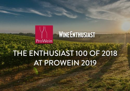 Thumbnail for Wine Enthusiast Top 100 Wines of 2018 (The Enthusiast 100) at ProWein 2019 in Düsseldorf